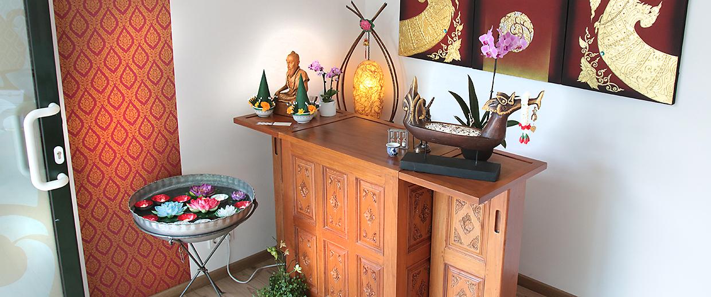 Eingangsbereich Supagun-Massage